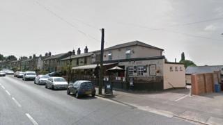 Bay Horse pub on the A131 Melford Road, Sudbury
