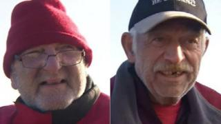 Steve Shapiro and Bob Weise