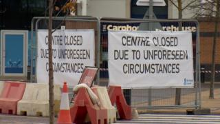 Signs at Inverness Centre