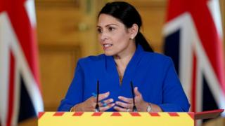 Coronavirus: Priti Patel 'sorry if people feel there have been failings' on PPE