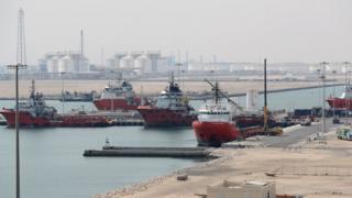 تاسیسات پالایش گاز قطر در راس لفان