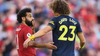 Mohamed Salah ati David Luiz