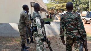 Policiers et gendarmes centrafricains - archives