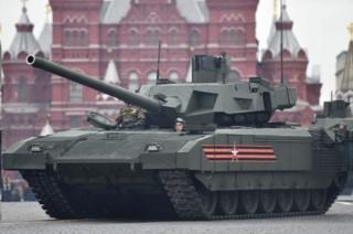 รถถังอาร์มาตา (Armata T-14) เป็นรถถังรุ่นใหม่ติดตั้งระบบอัตโนมัติระดับสูงของรัสเซีย ซึ่งนำมาใช้งานแทนรถถังรุ่นเก่าของสหภาพโซเวียต