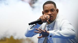 Will Smith dey rap for di 2018 World Cup closing ceremony
