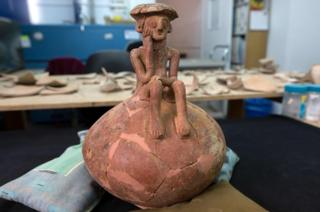 Bronze Age figure found by archaeologists in Israel