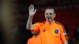 Erdoğan Başakşehir forması ile