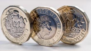 Buinn-airgid £1 ùr