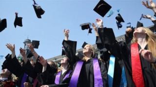 高校学生毕业典礼