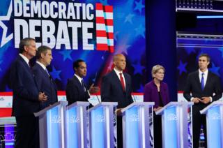 Miami debate stage