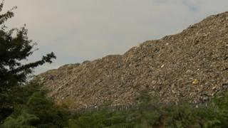 The contents of the tip at Great Heck