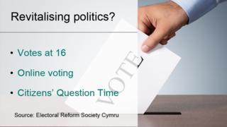 Electoral Reform Society manifesto graphic