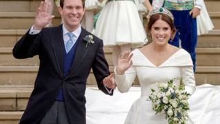 sports Jack Brooksbank and Princess Eugenie
