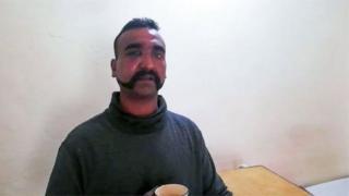 ভারতীয় পাইলট আভিনন্দন ভার্থামান