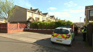 Scene of Sunderland death