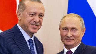 بوتين وأردوغان في قمة سوتشي