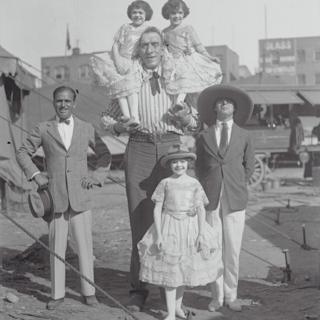 in_pictures Douglas Fairbanks Sr, George Auger and Charlie Chaplin
