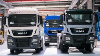 MAN Group trucks
