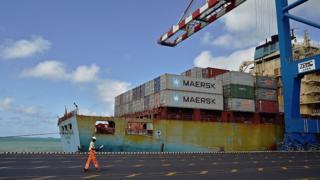 Puerto en Yibuti