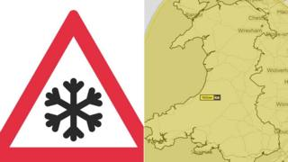 Ice warning for Wales