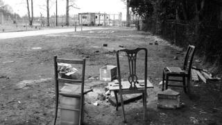 Chairs on the camp