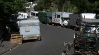 Vans in Greenbank View