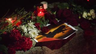 Homenajes a las víctimas