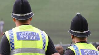 Welsh police officers