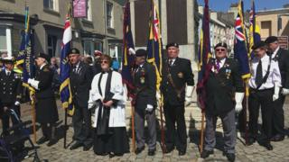 Battle of Jutland commemoration in Holyhead, Anglesey