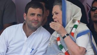 राहुल गांधी, सोनिया गांधी