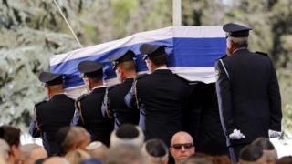 Jana'izar Shimon Peres
