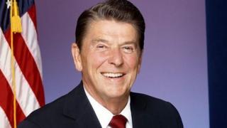 Aliyekuwa rais wa marekani Renald Reagan