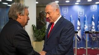 Waziri mkuu wa Israel Benjamin Netanyahu amesema kuwa Iran inatengeza kiwanda nchini Syria na Lebanon ili kutengeza makombora.