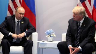 Путин, Трамп