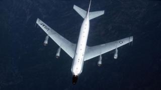 US RC-135 keşif uçağı