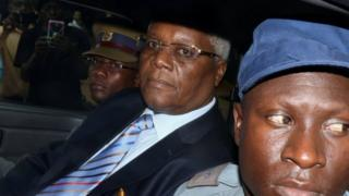 Former Zimbabwe Finance Minister Ignatius Chombo, who has appeared in court charged with corruption, 25 November 2017