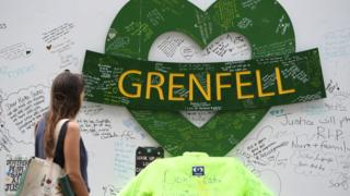 People gathered at Grenfell Memorial Community Mosaic