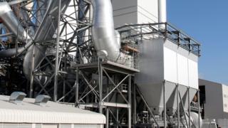 Hanson Cement works