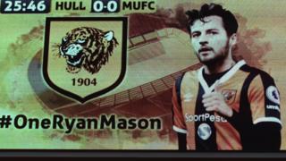 Hull City a rendu un vibrant hommage à son milieu de terrain Ryan Mason.