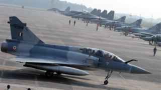 Indian warplanes crossed the line of control and struck targets in Pakistan on Tuesday