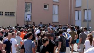 Протесты на Корсике