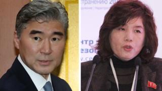 Sung Kim dan Choe Son-hui