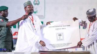 Buhari campaigner para as EU final report fault Nigeria 2019 election
