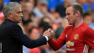 Mourinho na Wayne Rooney