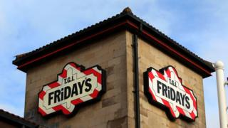 TGI Fridays building
