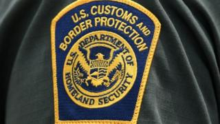 A US Customs and Border Protection patch