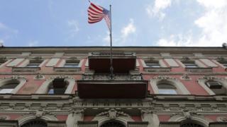 मस्कोस्थित अमेरिकी दूतावास