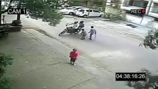 Vídeo falso na Índia