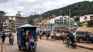 Umwe mu mihanda igendwa cyane mu mujyi wa Kigali