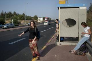Автостоперы на Западном берегу